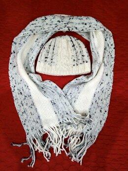 Головные уборы - Зимний комплект(шапка+шарф), 0