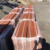 Тротуарная плитка 100х200 красная  по цене 550₽ - Тротуарная плитка, бордюр, фото 1