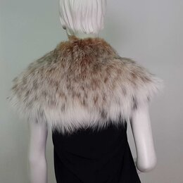 Шарфы и платки - Воротник из меха рыси, 0