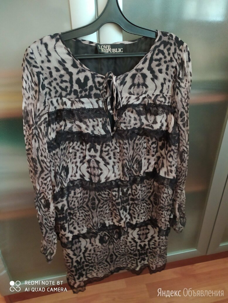 туника 44-46 размер по цене 300₽ - Блузки и кофточки, фото 0