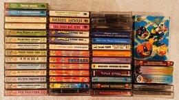 Музыкальные CD и аудиокассеты - Коллекция детских аудио кассет СССР лицензия, 0