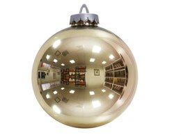 Новогодний декор и аксессуары - Шар 250 мм (зеркально-золотой), 0