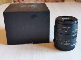 Объективы - Объектив 7artisans 55mm f/1.4 Fujifilm X, 0