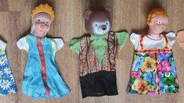 Куклы и пупсы - русские куклы для кукольного театра, надеваются…, 0