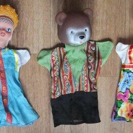 Куклы и пупсы - русские куклы для кукольного театра, надеваются на руки  5 штук, 0