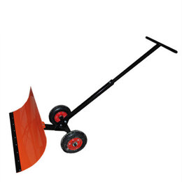 Лопаты и движки для снега - Лопата на колесах Электромаш для уборки снега, 0