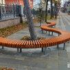 Скамейка парковая на металлическом каркасе по цене 6500₽ - Скамейки, фото 5