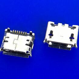 Корпусные детали - Разъем micro usb №4 (Samsung i9100), 0