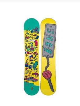 Сноуборды - Крепление+Доска сноуборд Bone kickstart 110 см , 0