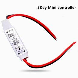 Светодиодные ленты - Mini-Контроллер 6А для светодиодной монохромной ленты и модулей, 12~24V, 0