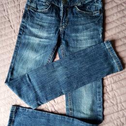 Джинсы - Фирменные джинсы на стройную девочку, 0