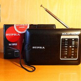 Радиоприемники - Радиоприемник Supra ST-111. На солнечной батарее, 0
