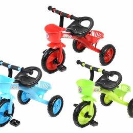 Трехколесные велосипеды - Велосипед детский трехколесный, 0