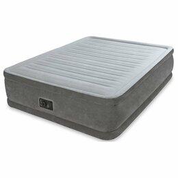 Надувная мебель - Новый матрас-Кровать надувная 152х 203х33 см, 0