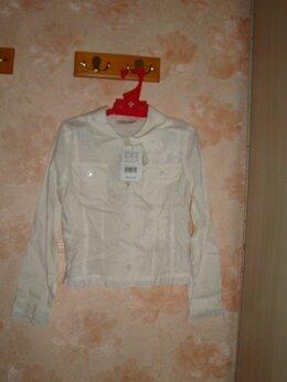 Рубашки и блузы - Блузка льняная новая на 10-12 лет Италия, 0