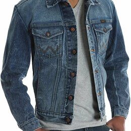 Куртки - Куртка джинсовая Wrangler, Made in Mexico, 0