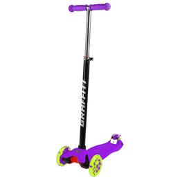 Самокаты - Самокат детский GRAFFITI Swift  фиолетовый, 0