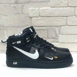 Кроссовки и кеды - Кроссовки Nike Air Force 1 '07 LV8 black все р-р, 0