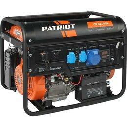 Электрогенераторы - Генератор бензиновый Patriot GP 8210AE 474101705, 0