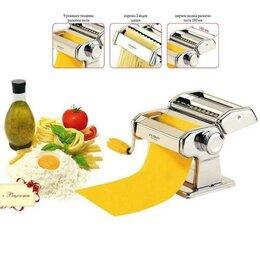 Пельменницы, машинки для пасты и равиоли - Лапшерезка машинка для раскатки теста ручная Zeidan Z-1167 3в1, 0