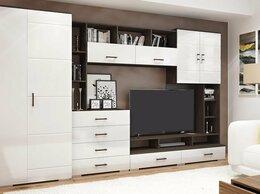 Шкафы, стенки, гарнитуры - Стенка Коста МДФ венге/белый глянец 320 см, 0