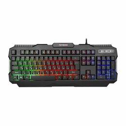 Клавиатуры - Клавиатура игровая Гарнизон GK-330G черный USB, 0