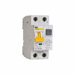 Электрические щиты и комплектующие - Автомат дифференциальны IEK/иэк авдт32 2P C 16А 30, 0
