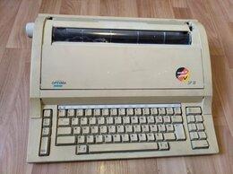 Полиграфическое оборудование - Электронная пишущая машинка, 0