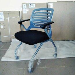 Компьютерные кресла - стул на колесах в переговорную КВ-2121, 0
