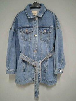 Куртки - Удлиненная джинсовка Tom Farr новая, 0