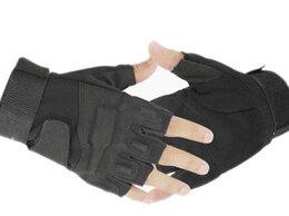Перчатки и варежки - Перчатки беспалые, тактические Blackhawk! черные, 0