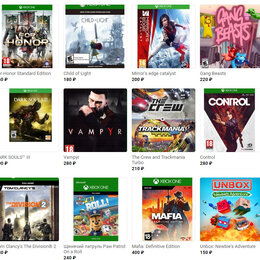 Игры для приставок и ПК - Более 119 игр на Xbox one, 0