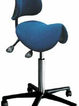 Компьютерные кресла - Стул-седло со спинкой антистатический АРМ-3503-200, 0
