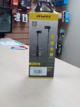 Наушники и Bluetooth-гарнитуры - Беспроводные наушники Awei , 0