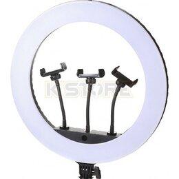 Осветительное оборудование - Кольцевая лампа Jmary FM-21R 54 см пульт ДУ, 0
