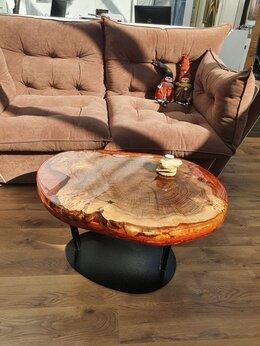 Столы и столики - Кофейный столик из массива карагача, 0