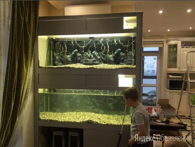 Аквариум - стойка для дома или магазина по цене 50000₽ - Аквариумы, террариумы, тумбы, фото 0
