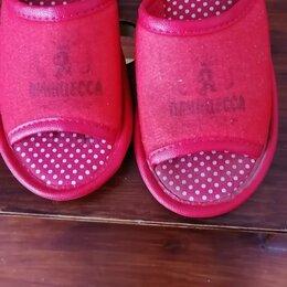 Домашняя обувь - Тапочки домашние детские размер 32 и 33 , 0