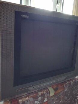 Телевизоры - Телевизор цветной недорогой рабочий, 0