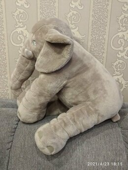 Мягкие игрушки - мягкая игрушка - слон, 0