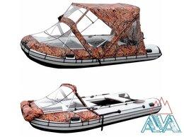 Аксессуары и комплектующие - Тент-трансформер Комби ходовой для лодок пвх от…, 0
