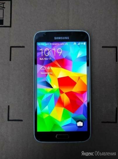 Смартфон Samsung S5 по цене 3500₽ - Мобильные телефоны, фото 0