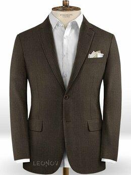 Пиджаки - Темно-коричневый пиджак из шерсти – Scabal, 0