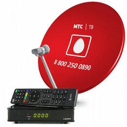 Спутниковое телевидение - Комплект спутникового ТВ МТС с ресивером и…, 0