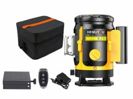 Измерительные инструменты и приборы - Лазерный уровень. Hemuyou 3D-360, 0