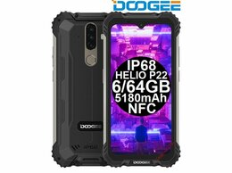Мобильные телефоны - Новые Doogee S58 Pro Black IP68 6/64GB HelioP22…, 0