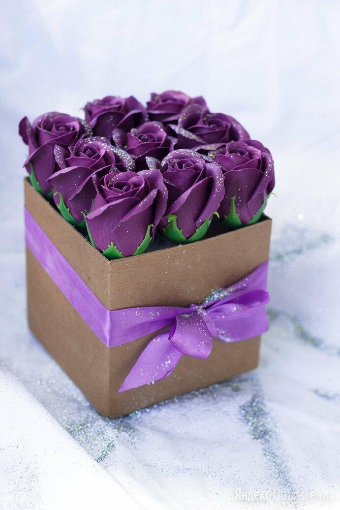 Мыльные розы по цене 500₽ - Цветы, букеты, композиции, фото 0