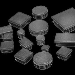 Комплектующие - Заглушки для профильной трубы металлические и пластиковые, 0