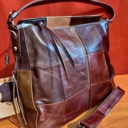 Сумки - Шикарная большая сумка из натуральной кожи Новая, 0