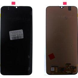 Дисплеи и тачскрины - Дисплей Samsung Galaxy A20 2019 SM-A205F в сборе с сенсором, ориг черный, 0